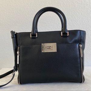 Michael Kors black Sloan Leather Tote